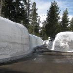 March Miracle in Tahoe Mountains: Snow