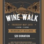 Wine Walk at Heavenly Village a Fundraiser for Christmas Cheer